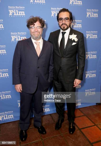 Director Kenneth Lonergan of 'Manchester by the Sea' and SBIFF Executive Director Roger Durling attend the Outstanding Director's Award during the...