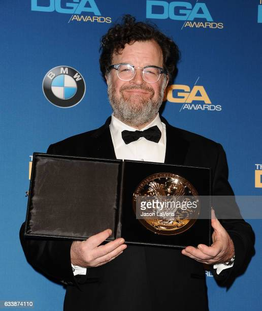 Director Kenneth Lonergan poses in the press room at the 69th annual Directors Guild of America Awards at The Beverly Hilton Hotel on February 4 2017...