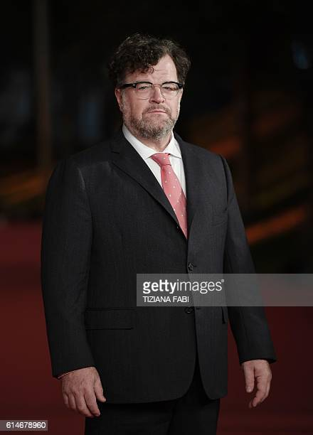 US director Kenneth Lonergan poses on the red carpet as he arrives for the screening of the movie Manchester by the Sea during the 11th Rome Film...