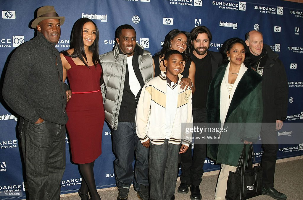 Director Kenny Leon, actors Sanaa Lathan, Sean 'P  Diddy' Combs