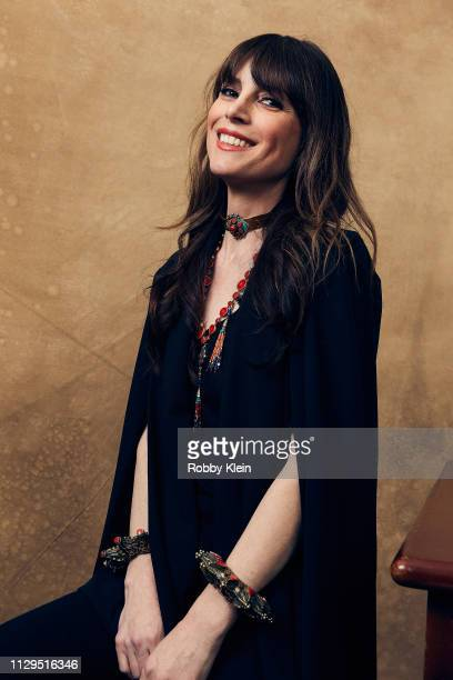 Director Kestrin Pantera of the film 'Mother's Little Helpers' poses for a portrait at the 2019 SXSW Film Festival Portrait Studio on March 9 2019 in...
