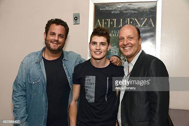 Director Kevin Asch Gregg Sulkin and Producer Morris S Levy attend the 'Affluenza' screening and Q A with star Gregg Sulkin and filmmakers at...