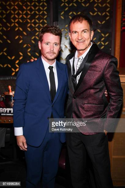 Director Kevin Connolly and producer Edward Walson attend the New York after party for Gotti starring John Travolta in theaters June 15 2018 on June...