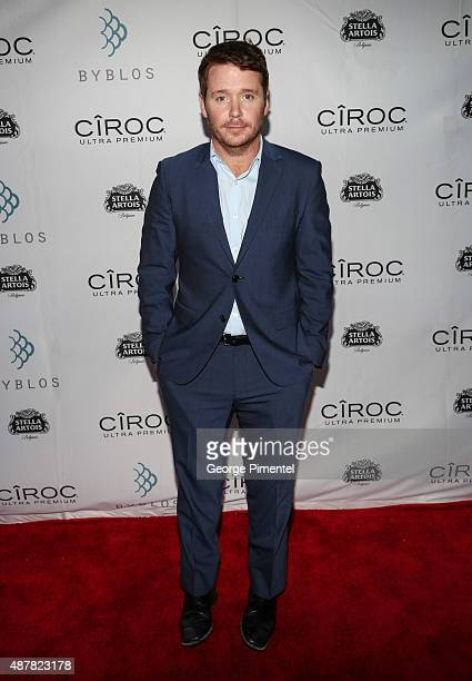 Director Kevin Connolly attends the 'Gotti' Party hosted by Ciroc and Stella Artois at Byblos on September 11 2015 in Toronto Canada
