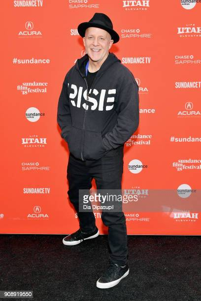 Director Kevin Kerslake attends the 'Bad Reputation' Premiere during the 2018 Sundance Film Festival at The Marc Theatre on January 22 2018 in Park...