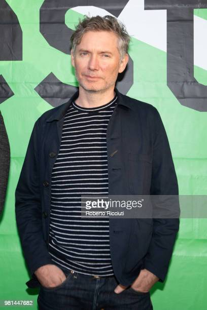 Director Kevin Macdonald attends a photocall for the UK Premiere of 'Whitney' during the 72nd Edinburgh International Film Festival at Filmhouse on...