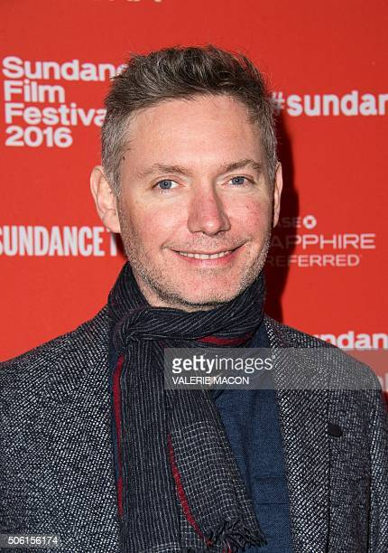 Director Kevin Macdonald attends the Premiere of SKY LADDER THE ART OF CAI GUOQIANG at the Marc Theatre in Park City Utah on January 21 2016 / AFP /...