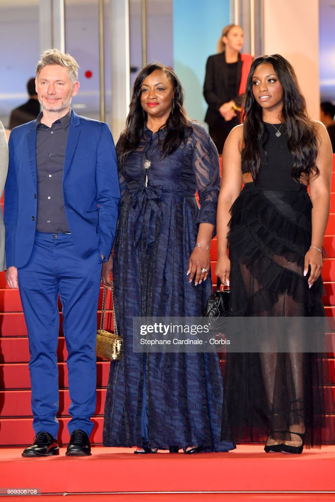 Director Kevin McDonald, producer Pat Houston and Rayah Houston attend the screening of 'Whitney' during the 71st annual Cannes Film Festival at Palais des Festivals on May 16, 2018 in Cannes, France.