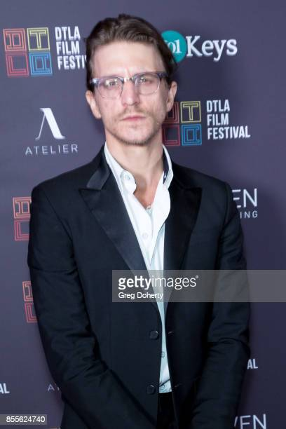 Director Kevin Philliips arrives for the DTLA Film Festival Premiere Of The Orchard's Super Dark Times at Regal 14 at LA Live Downtown on September...