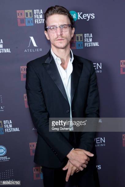 Director Kevin Philliips arrives for the DTLA Film Festival Premiere Of The Orchard's 'Super Dark Times' at Regal 14 at LA Live Downtown on September...