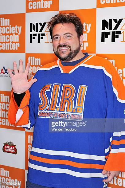 """Director Kevin Smith attends 49th Annual New York Film Festival screening of """"The Adventures of Buckaroo Banzai Across the 8th Dimension"""" at Alice..."""