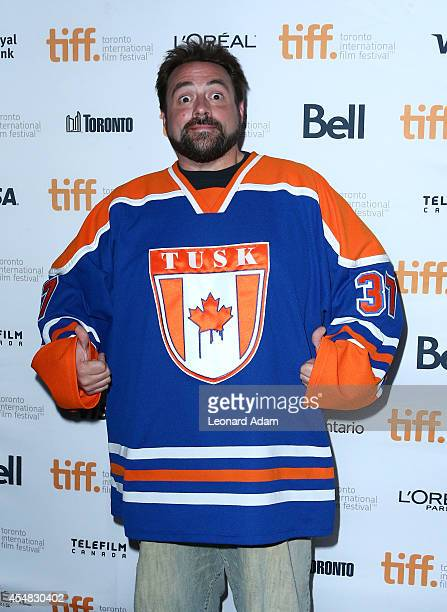 Director Kevin Smith attends the Tusk Premiere during the 2014 Toronto International Film Festival at Ryerson Theatre on September 6 2014 in Toronto...