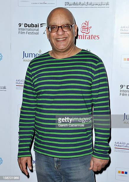Director Khairy Beshara attends the Moondog premiere during day three of the 9th Annual Dubai International Film Festival held at the Madinat...