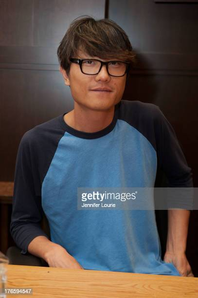 Director Ki Hyun Ryu attends 'The Legend of Korra' panel discussion and signing at Barnes Noble bookstore at The Grove on August 15 2013 in Los...