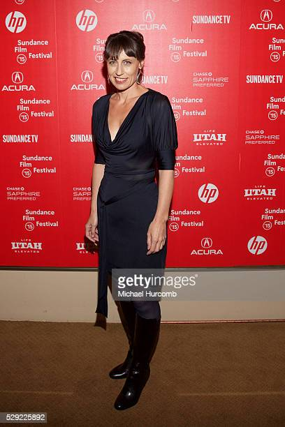 "Director Kim Farrant attends the ""Strangerland"" premiere at the 2015 Sundance Film Festival"