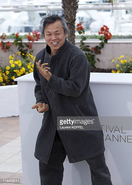 Director Kim KiDuk attends the 'Arirang' photocall during the 64th Annual Cannes Film Festival on May 13 2011 in Cannes France