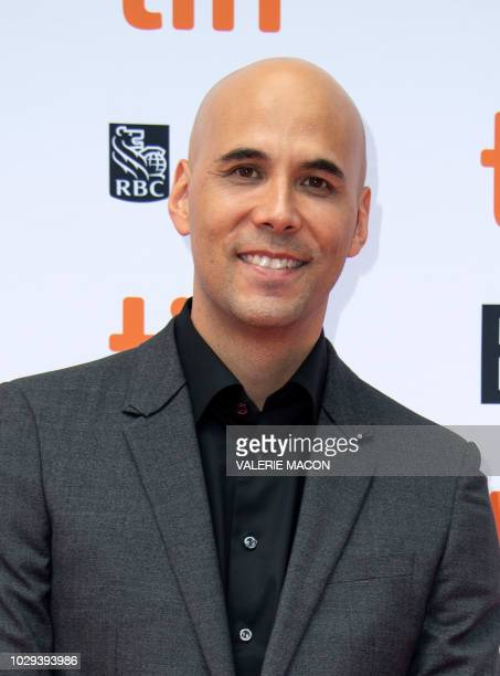 Director Kim Nguyen attends the 'The Hummingbird Project' premiere during the Toronto International Film Festival on September 8 in Toronto Ontario...