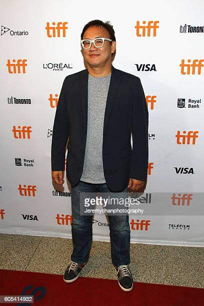 Director Kim Sungsu attends the Asura The City Of Madness premiere held at The Elgin during the Toronto International Film Festival on September 13...