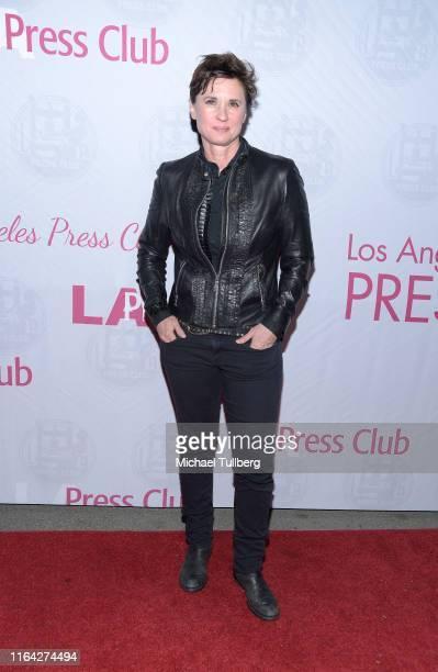 """Director Kimberly Peirce attends a Q&A session at a screening of Tom Donahue's documentary """"This Changes Everything"""" on July 25, 2019 in Los Angeles,..."""