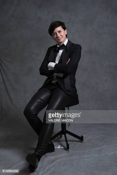 Director Kimberly Peirce poses for portraits during the Academy Awards annual nominees luncheon for the 90th Oscars at the Beverly Hilton California...
