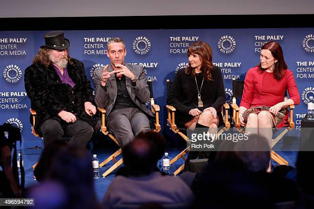 Director Kirk Thatcher Jay Harrington Mary Steenburgen and Executive Producer Lisa Henson on stage at a Screening Of Lifetime Television's Turkey...