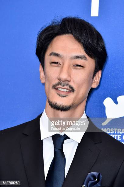 Director Kohei Igarashi attends the 'The Night I Swam ' photocall during the 74th Venice Film Festival at Sala Casino on September 5 2017 in Venice...
