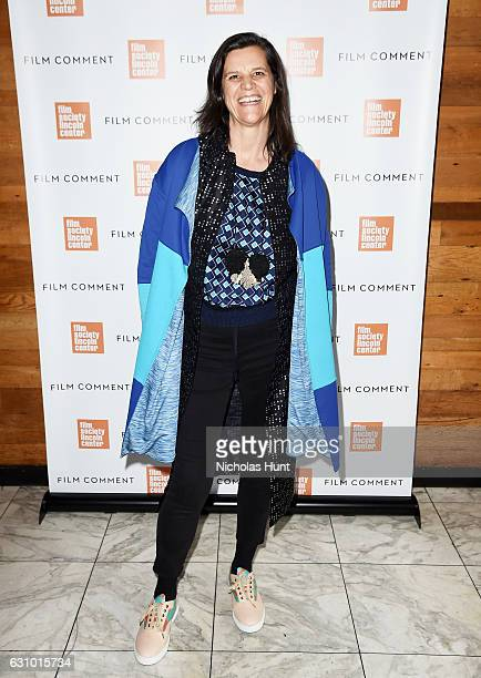 Director Kristen Johnson attends the 2016 Film Society Of Lincoln Center Film Comment Luncheon at Scarpetta on January 4 2017 in New York City