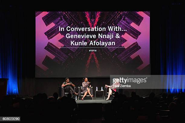 Director Kunle Afolayan actress/singer Genevieve Nnaji and moderator Wendy Mitchell discuss Nigeria's film industry and the international rise of...