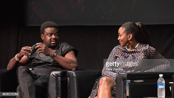 Director Kunle Afolayan and actress/singer Genevieve Nnaji discuss Nigeria's film industry and the international rise of Nollywood at the 2016...