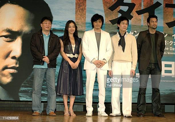 Director Kwak Kyung-Taek, Lee Mi-Yun, Jang Dong-Gun, Lee Jung-Jae and David McInnis