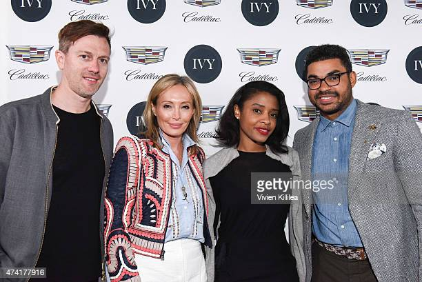 Director Kyle Newman CCO of BCBGMAXAZRIAGROUP Lubov Azria vice president of FleishmanHillard Guia Golden and communications manager at General...