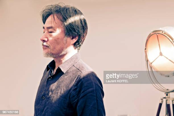Director Kyoshi Kurosawa is photographed for Self Assignment during the 70th annual Cannes Film Festival at Palais des Festivals on May 23 2017 in...