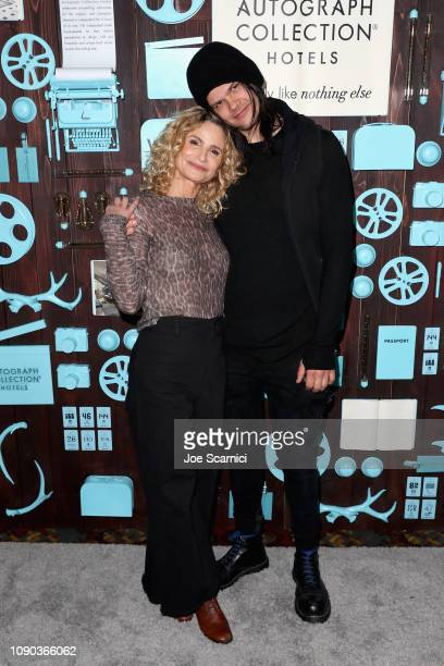 Director Kyra Sedgwick and actor/composer Travis Bacon attend a brunch celebrating Girls Weekend hosted by Vulture and Big Swing Productions on...