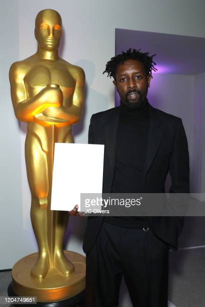 Director Ladj Ly attends The Oscars International Feature Film Nominees Cocktail Reception on February 07 2020 in Los Angeles California