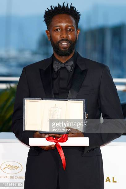 Director Ladj Ly winner of the Jury Price award for his film Les Miserables poses at the winner photocall during the 72nd annual Cannes Film Festival...