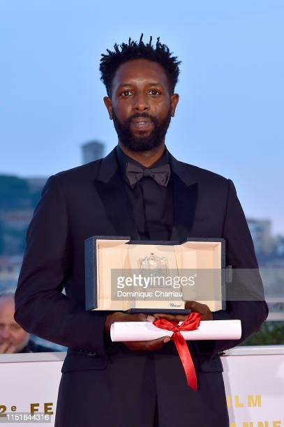 Director Ladj Ly winner of the Jury Price award for his film Les Miserables poses at thewinner photocall during the 72nd annual Cannes Film Festival...
