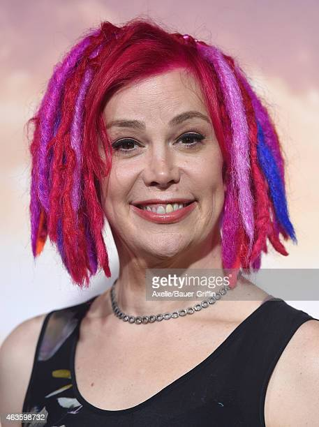 Director Lana Wachowski arrives at the Los Angeles premiere of 'Jupiter Ascending' at TCL Chinese Theatre on February 2 2015 in Hollywood California