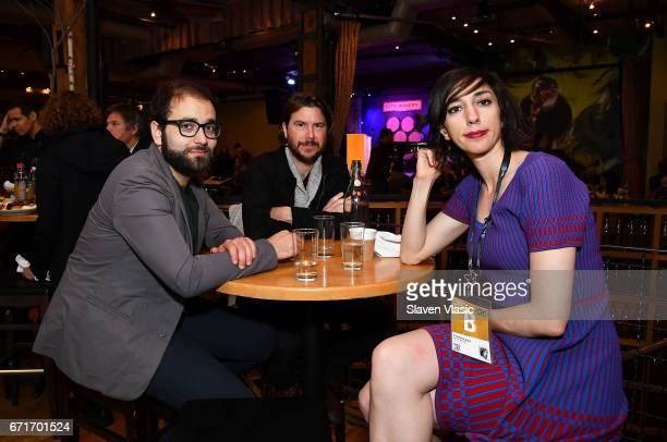 Director Lana Wilson and guests attend Director's Brunch at 2017 Tribeca Film Festival at City Winery on April 22 2017 in New York City