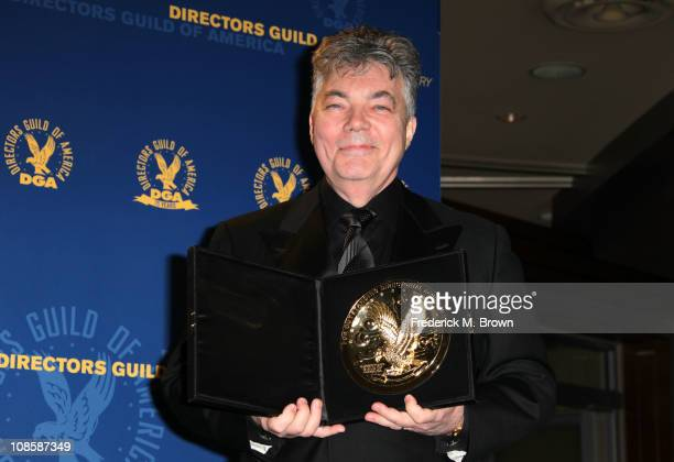 """Director Larry Carpenter, winner of the Daytime Serials DGA award for """"Star X'd Lovers the Musical Part Two"""" for """"One Life to Live"""" poses in the..."""