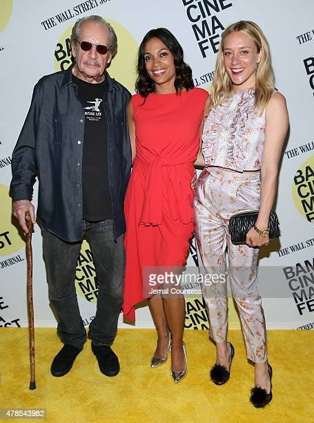 Director Larry Clark and actors Rosario Dawson and Chloe Sevigny attend the Kids 20th Anniversary Screening at BAMcinemaFest 2015 at BAM Peter Jay...