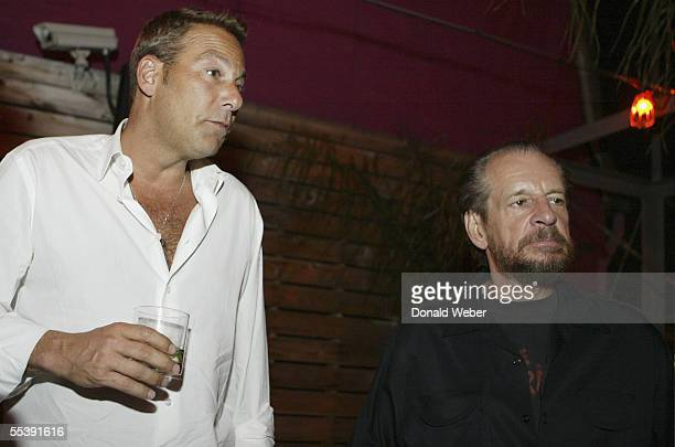 """Director Larry Clark and producer and CEO of First Look Films Henry Winterstern attend the after party for the film """"Wassup Rockers"""" during the 30th..."""