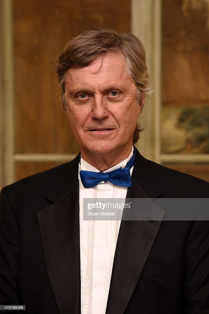 Director Lasse Hallstrom attends the American-Scandinavian Foundation Gala Dinner at The Pierre Hotel on April 17, 2015 in New York City.