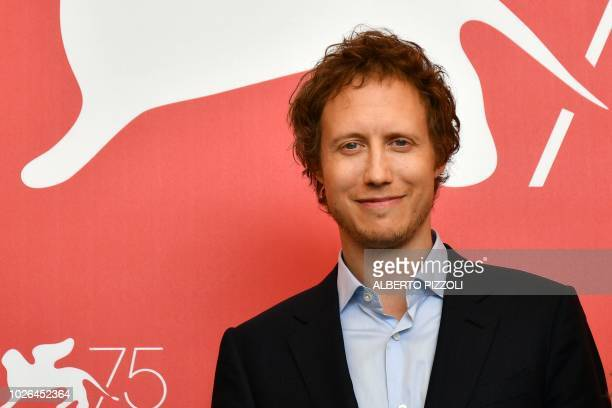 Director Laszlo Nemes attends a photocall for the film Napszallta presented in competition on September 3 2018 during the 75th Venice Film Festival...