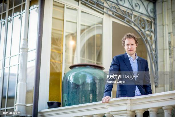 Director Laszlo Nemes poses for a portrait session during the 75th Venice Film Festival on September 3 2018 in Venice Italy