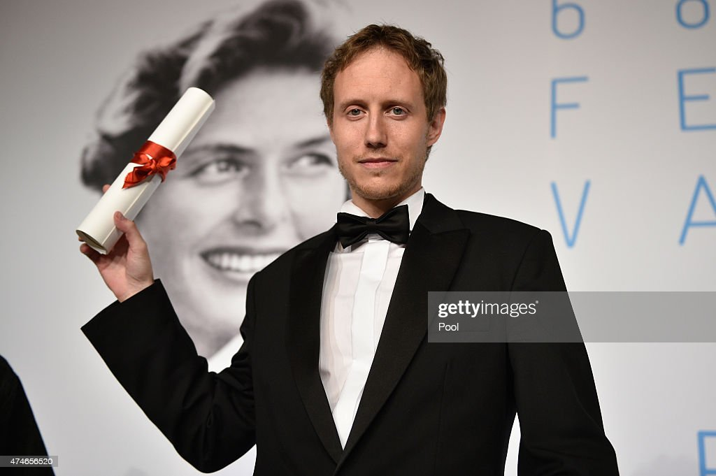 Director Laszlo Nemes, winner of the Grand Prix for his film 'Saul Fia', attends the Palm D'Or Winners press conference during the 68th annual Cannes Film Festival on May 24, 2015 in Cannes, France.