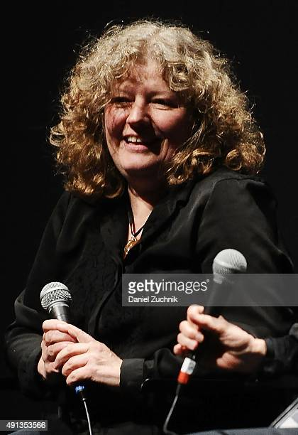 Director Laura Israel speaks at the 53rd New York Film Festival Don't Blink QA at Alice Tully Hall Lincoln Center on October 4 2015 in New York City