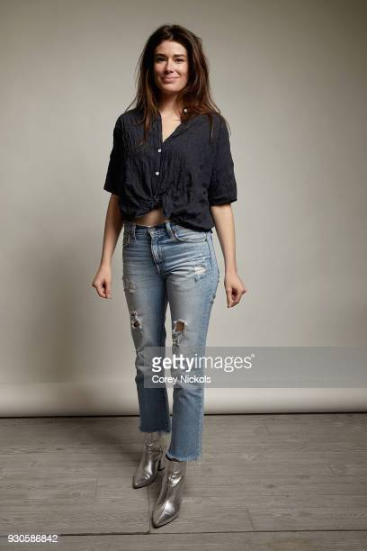 """Director Laura Steinel from the film """"Family"""" poses for a portrait in the Getty Images Portrait Studio Powered by Pizza Hut at the 2018 SXSW Film..."""
