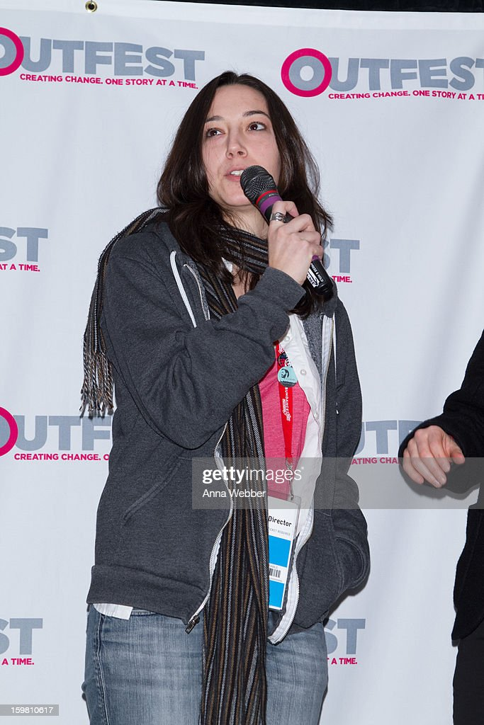 Director Lauren Wolkstein attends Outfest Queer Brunch - 2013 Park City on January 20, 2013 in Park City, Utah.