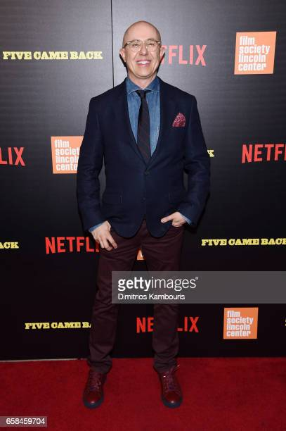 Director Laurent Bouzereau attend the Five Came Back world premiere at Alice Tully Hall at Lincoln Center on March 27 2017 in New York City