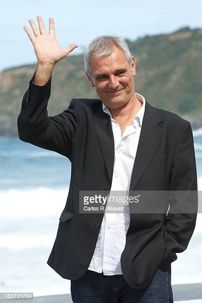 Director Laurent Cantet attends the 'Fosfire' photocall at the Kursaal Palace during the 60th San Sebastian International Film Festival on September...